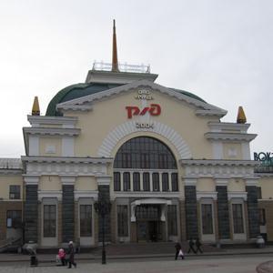 Железнодорожные вокзалы Электроуглей